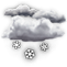 Weather Icon: Snow Showers